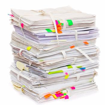 Вывоз бумаги из офиса